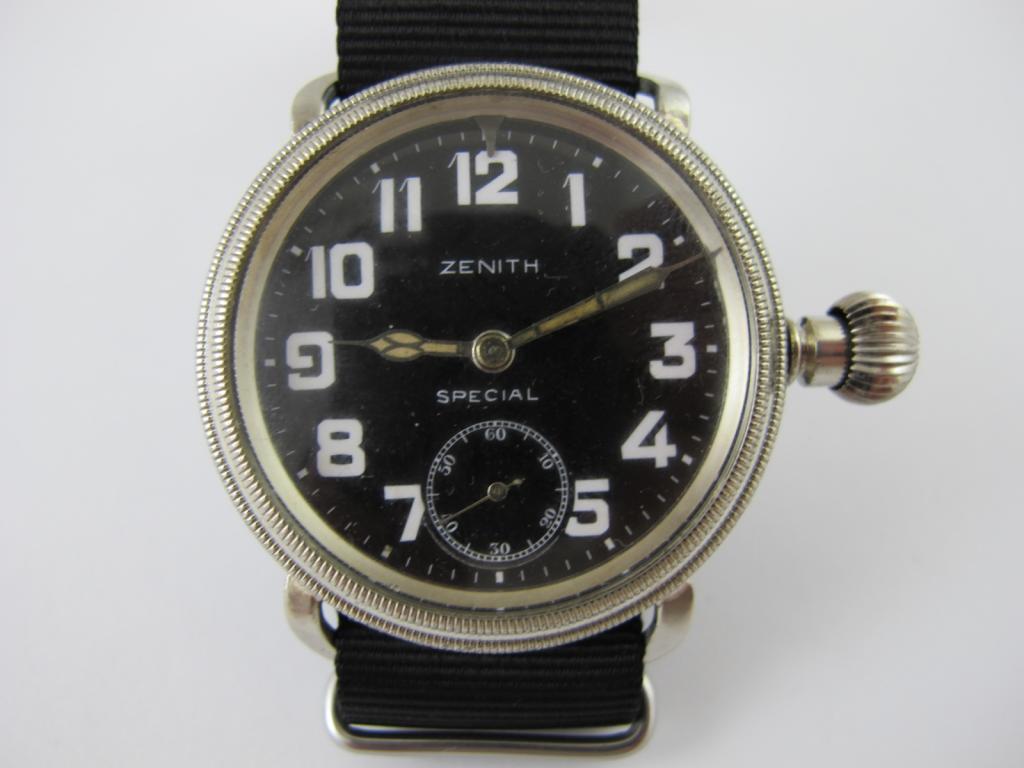 07486f5a7 Letecké hodinky ZENITH SPECIAL č.str.2966180 - Antik-hodinky.cz ...