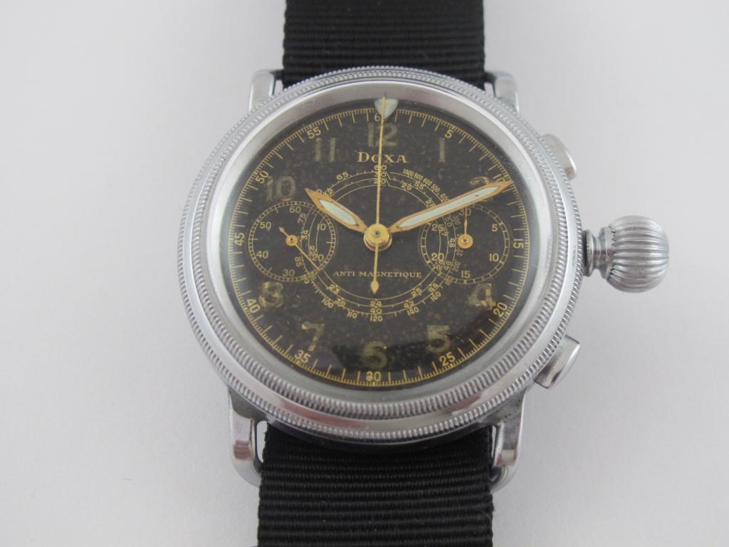 14a29692c Unikátní letecké hodinky se stopkami DOXA - Antik-hodinky.cz - zlaté ...