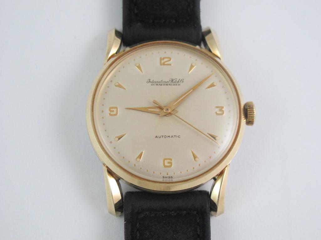 b2fdd7d3f Náramkové hodinky IWC SCHAFFHAUSEN z roku 1953 - jak nové - Antik ...