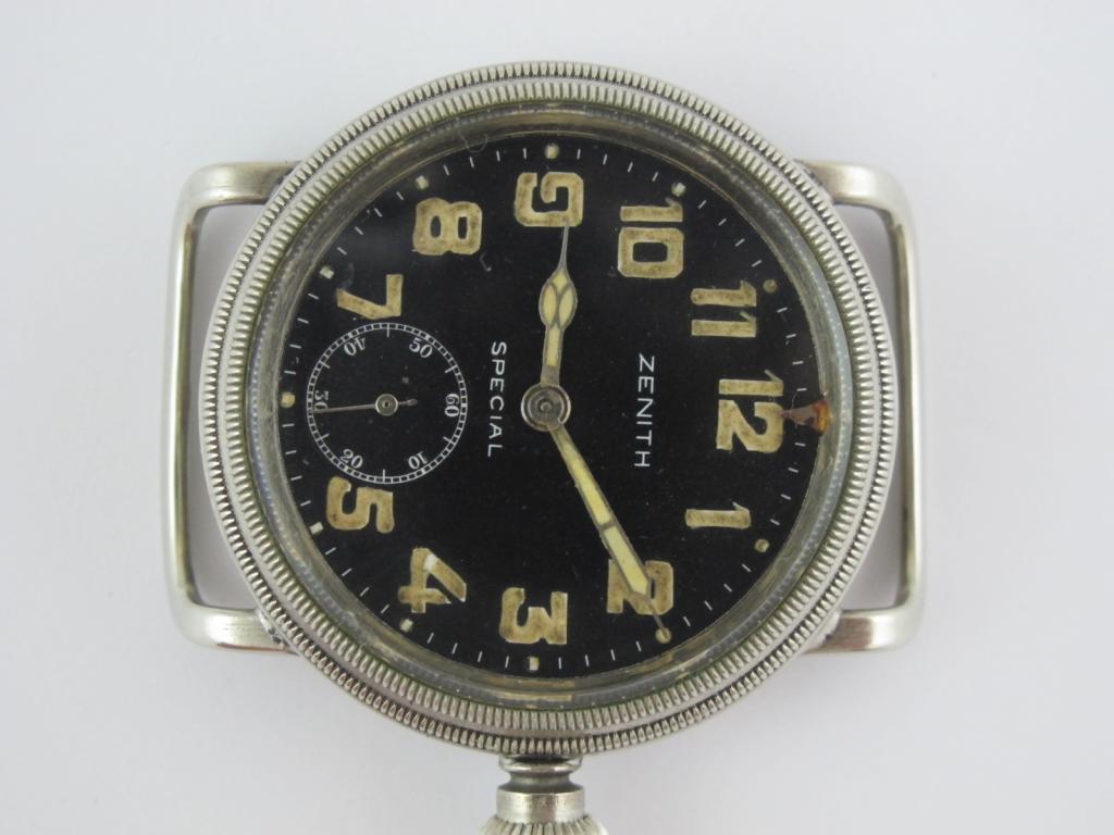 fc2531654 Letecké hodinky ZENITH SPECIAL - Antik-hodinky.cz - zlaté, stříbrné ...