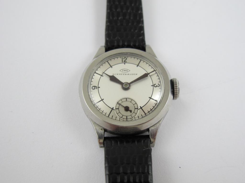 df50d3661 Dámské náramkové hodinky IWC SCHAFFHAUSEN č.str. 911084 - Antik ...