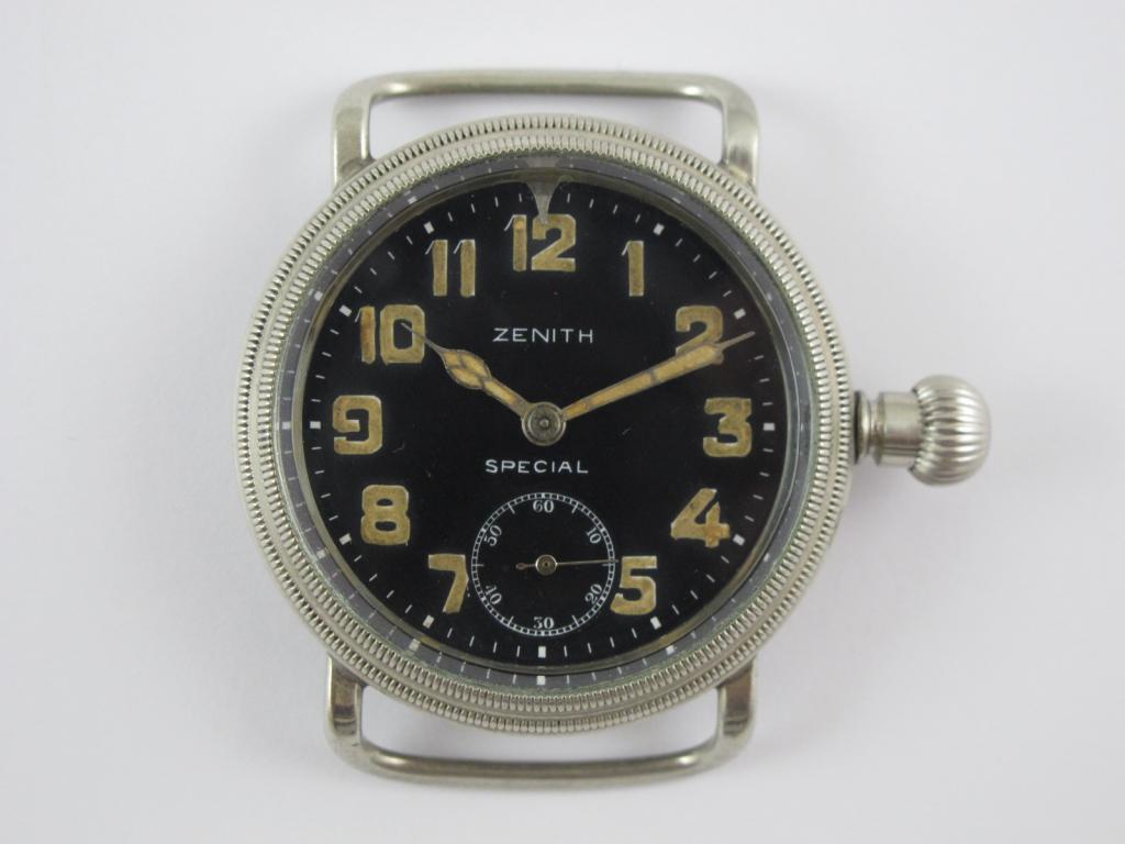 a515fc005 Letecké hodinky ZENITH SPECIAL č.str. 2965835 - Antik-hodinky.cz ...