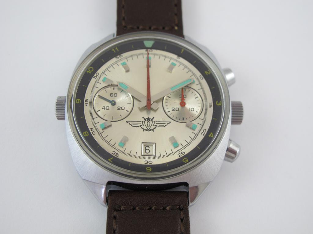 8b7d55206 Sovětské letecké hodinky se stopkami POLJOT c.3133 - nenošené ...