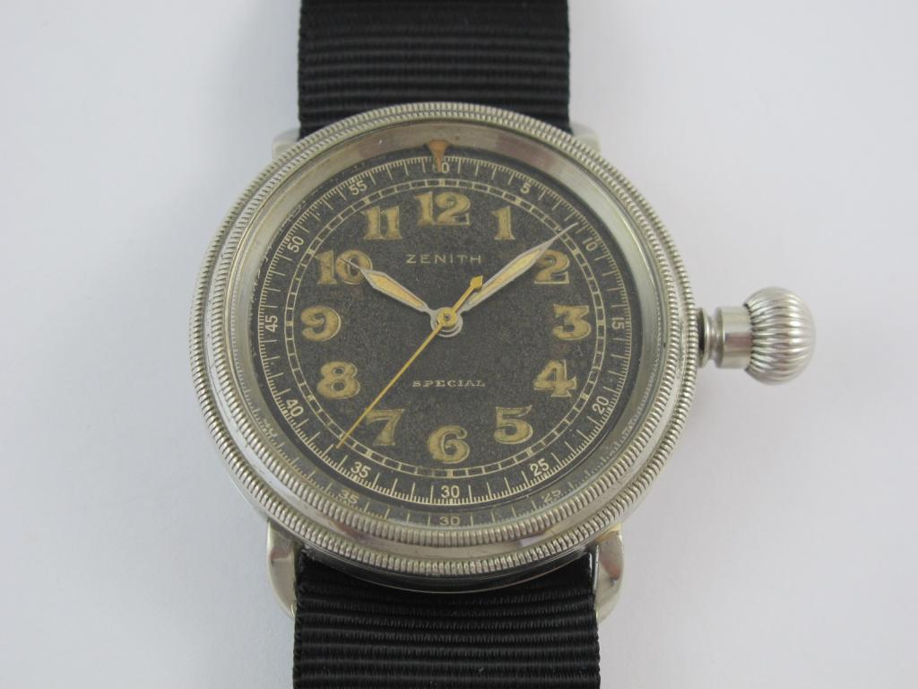 eae32eede Letecké hodinky ZENITH SPECIAL č.str.306211 - Antik-hodinky.cz ...