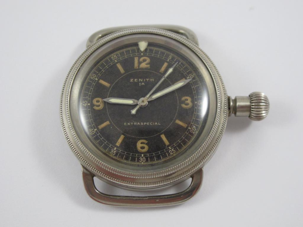 f2e104c2e Raritní letecké hodinky ZENITH 1 a EXTRA SPECIAL č.str.315 8561 ...