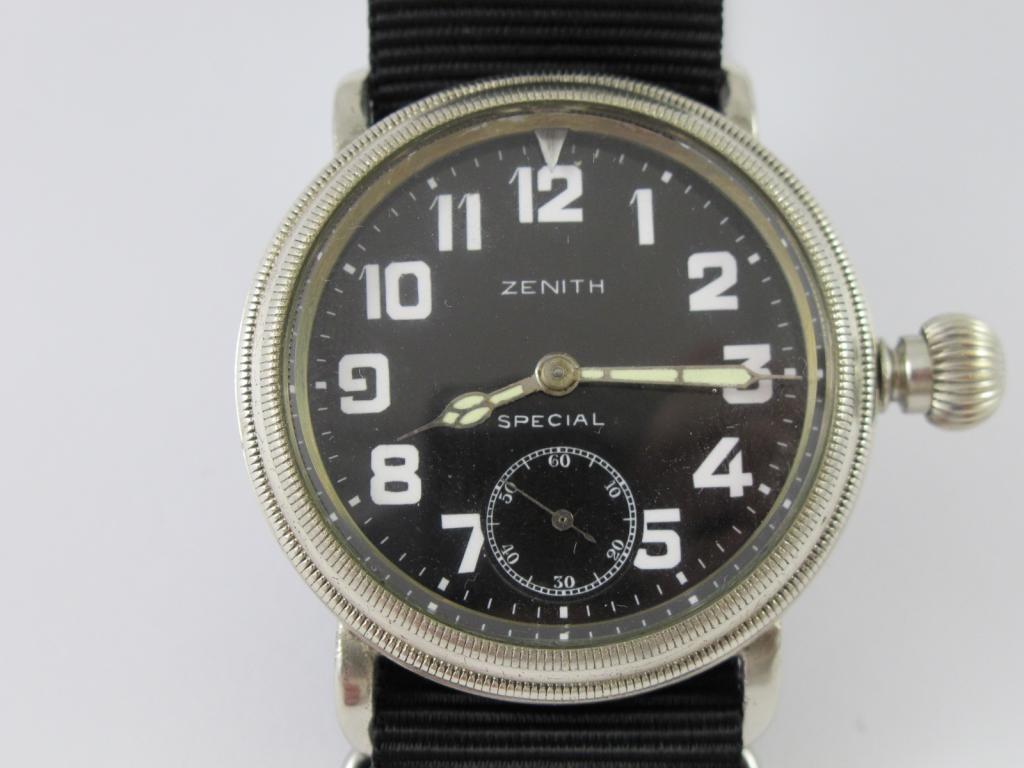b9e6ff73b Letecké hodinky ZENITH SPECIAL č.str. 3032672 - Antik-hodinky.cz ...