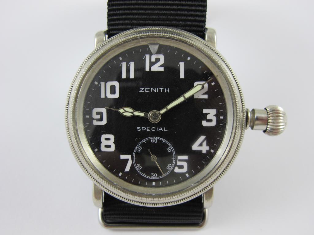 88384f132 Letecké hodinky ZENITH SPECIAL č.str.3032938 - Antik-hodinky.cz ...