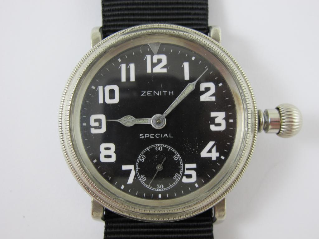 8d6cb4334 Letecké hodinky ZENITH SPECIAL - MAJETEK VOJENSKÉ SPRÁVY - Antik ...