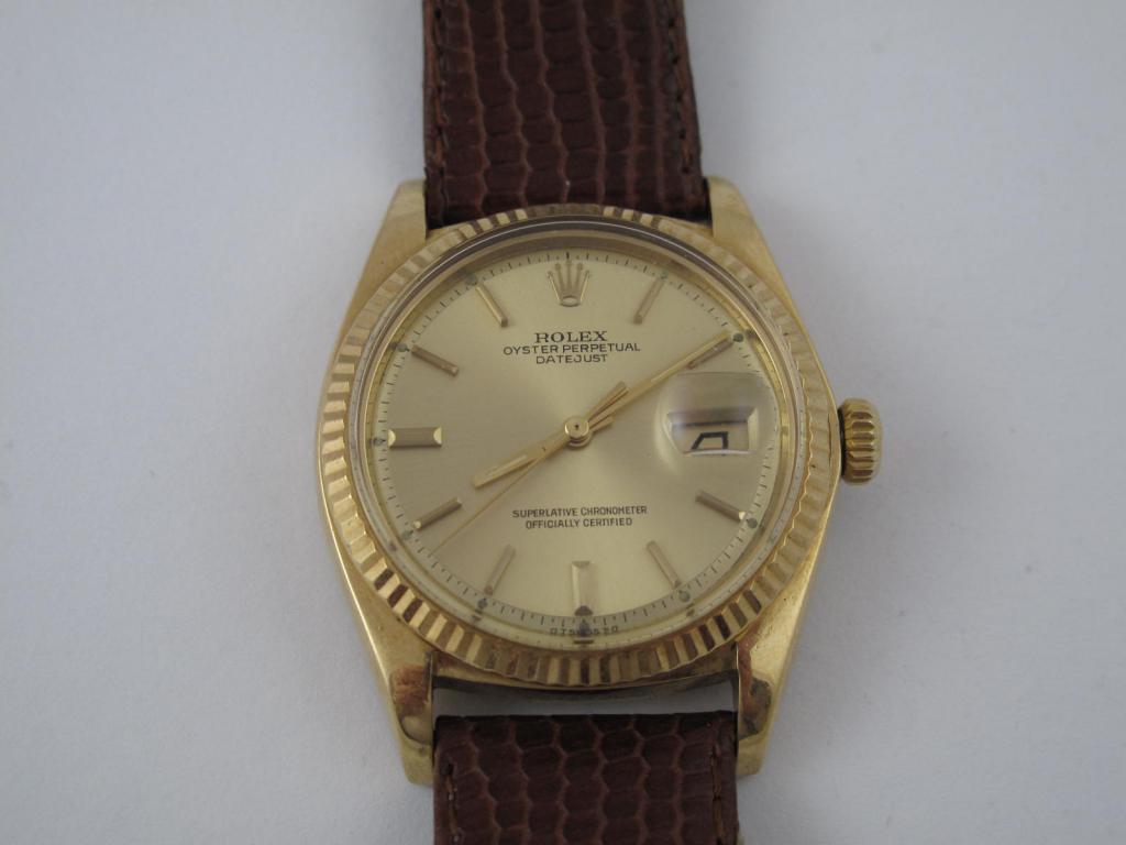 Zlaté náramkové 18 k ROLEX OYSTER PERPETUAL - Antik-hodinky.cz ... 54f2b0671e5