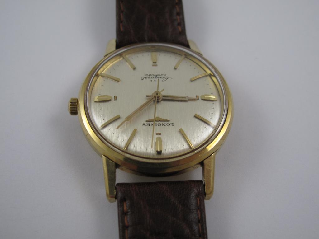 Zlaté náramkové 18 k hodinky LONGINES LONGUEST automatic c.290 ... 280928e1c2e