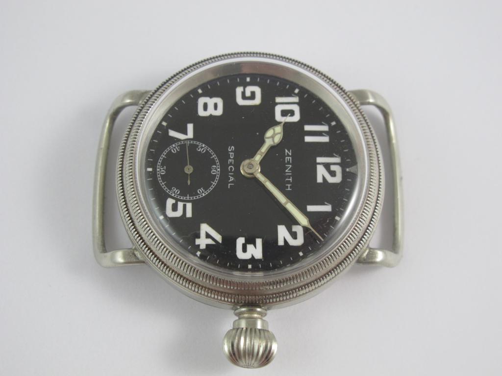 4fa72f8d5 Letecké hodinky ZENITH SPECIAL č.str. 2966686 z výstroje německých ...