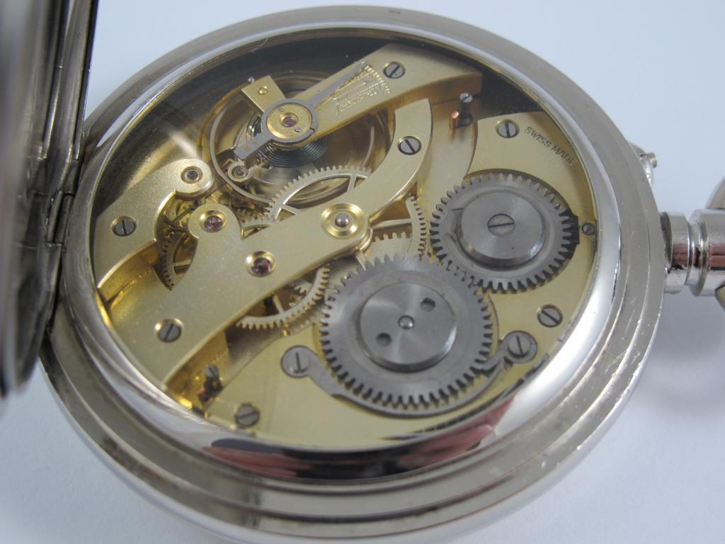 Obrovské starožitné Švýcarské kapesní hodinky v.205 d831eb40d26