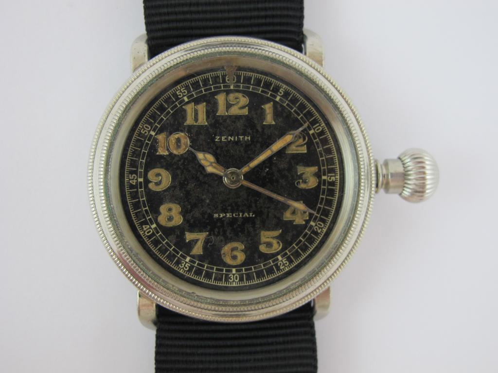 3f5558b84 Letecké hodinky ZENITH SPECIAL č.str.3005961 - Antik-hodinky.cz ...