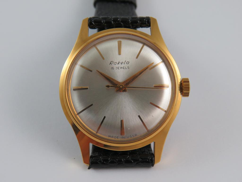 b94090639b8 Sovětské hodinky RAKETA - nové nenošené - Antik-hodinky.cz - zlaté ...