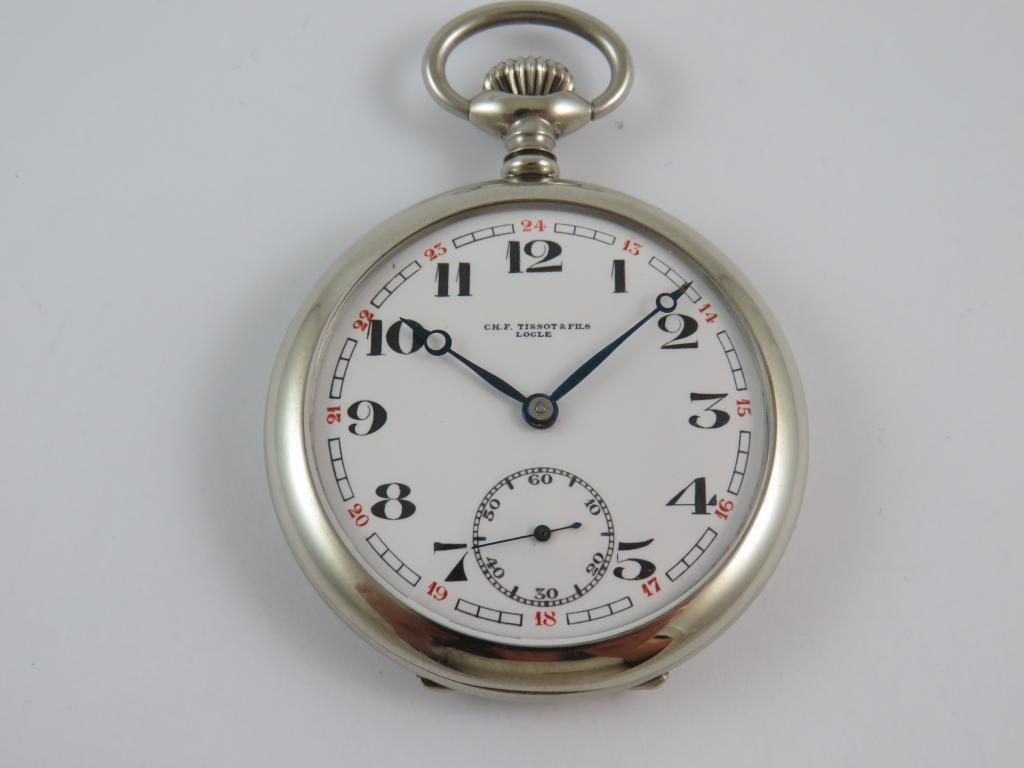 2 pl. starožitné kapesní hodinky TISSOT a FILS LOCLE - Antik-hodinky ... f1328ad922