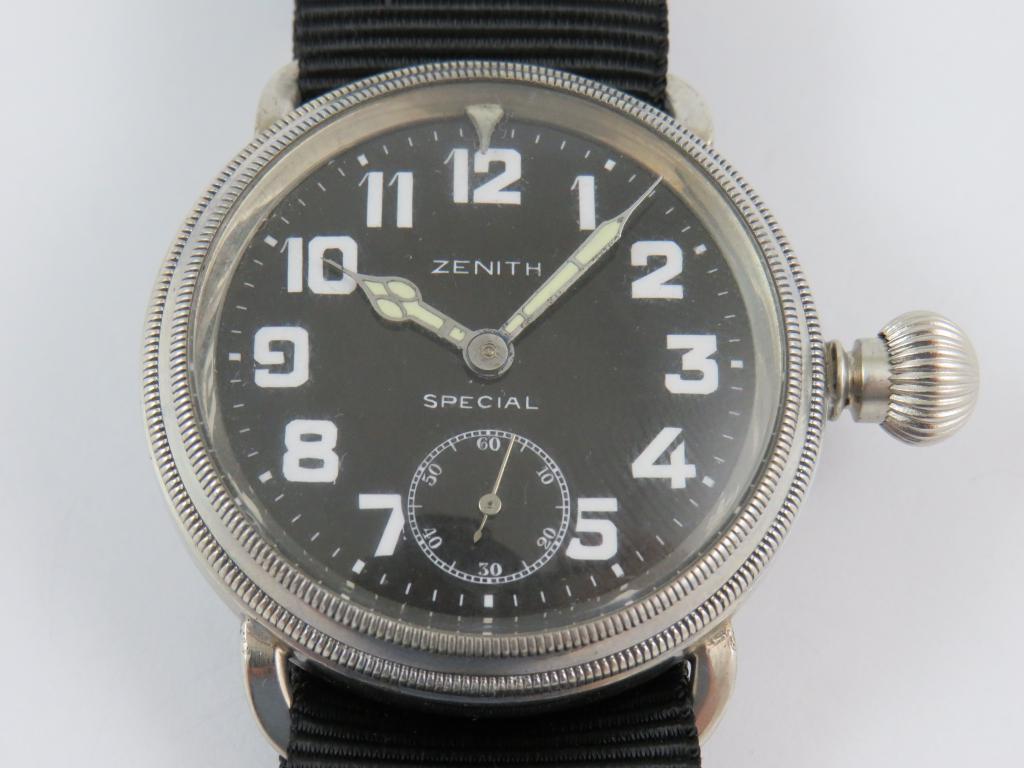 78ef7a4e7 Letecké hodinky ZENITH SPECIAL č.str. 3033542 - Antik-hodinky.cz ...
