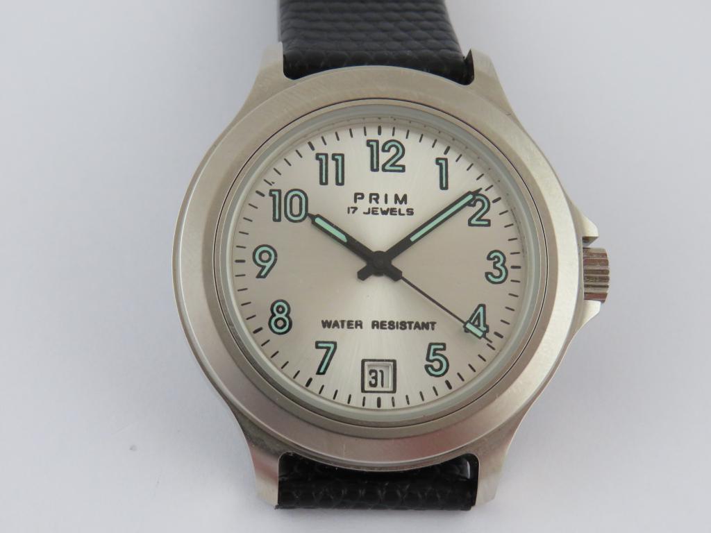 29433de4eaf Náramkové hodinky PRIM SPORT 3 - Antik-hodinky.cz - zlaté