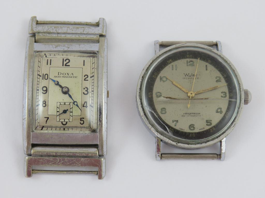 8a924ea9679 Starožitné náramkové hodinky WYLER a DOXA - Antik-hodinky.cz - zlaté ...