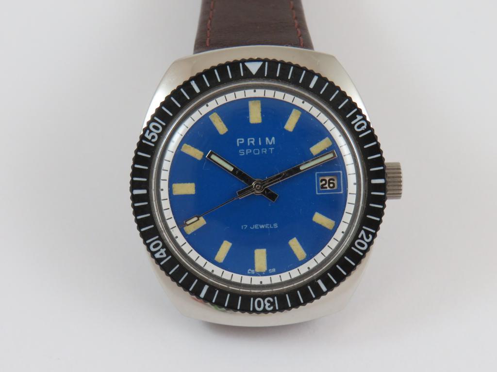15d7d1fb837 Náramkové ocelové hodinky PRIM č.429 - Antik-hodinky.cz - zlaté ...