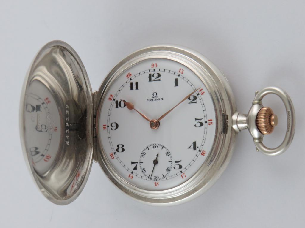 3 pl. stříbrné kapesní hodinky OMEGA v. 90.60 gr - Antik-hodinky.cz ... de7d1000d0
