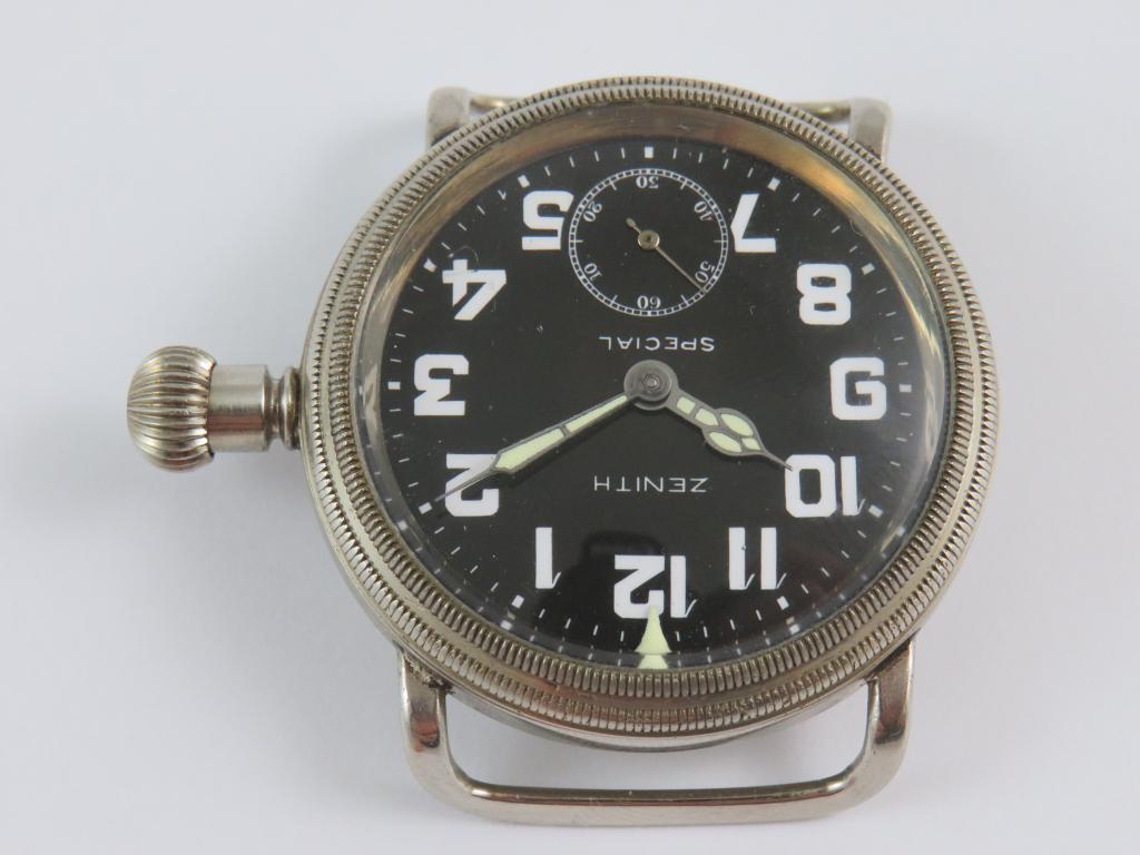 700752725 Letecké hodinky ZENITH SPECIAL č.str. 2966583 - Antik-hodinky.cz ...