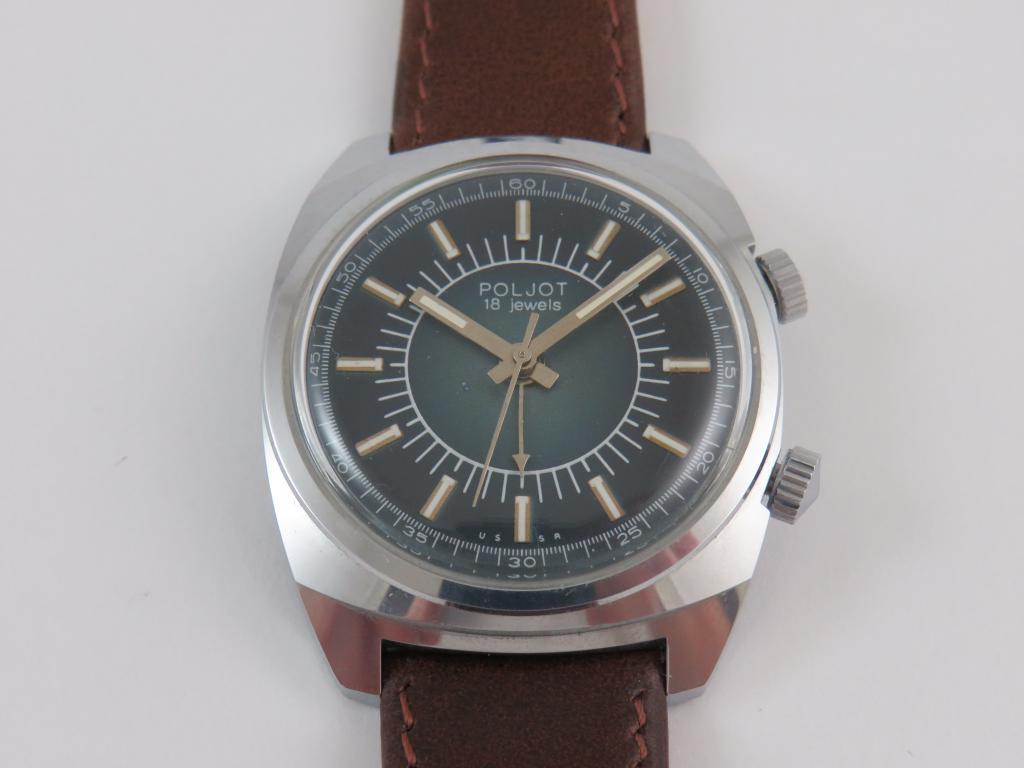 9737d3dbc Sovětské hodinky POLJOT s budíčkem čp.111066 - Antik-hodinky.cz ...