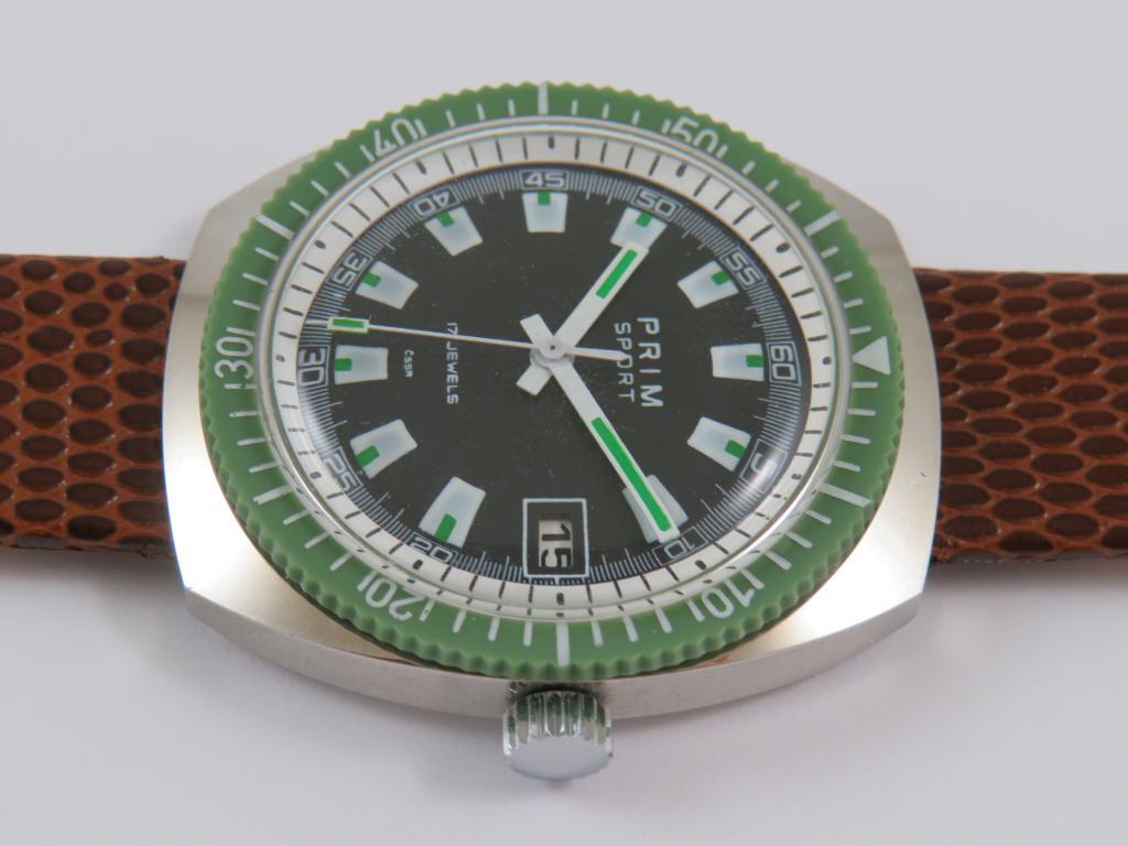 fb53d523581 Raritní náramkové hodinky PRIM 2 č.2654 - NOVÉ NEPOUŽITÉ - Antik ...