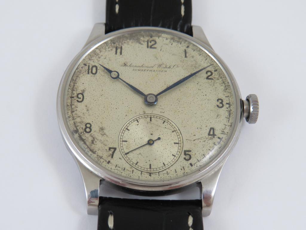1d8cad66a Letecké hodinky IWC SCHAFFHAUSEN (PORTUGIESER) r. v. 1931 - Antik ...