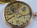 Raritní zlaté 18 K čtvrťové bicí hodinky klíčovky  BREGUET  v původní etuji